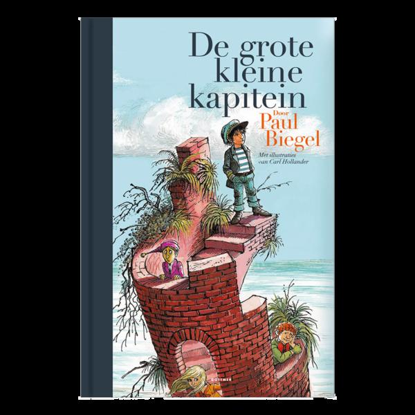 Cover De grote Kleine Kapitein door Paul Biegel. Uitgegeven door Gottmer Uitevers Groep © Biegel rights agency